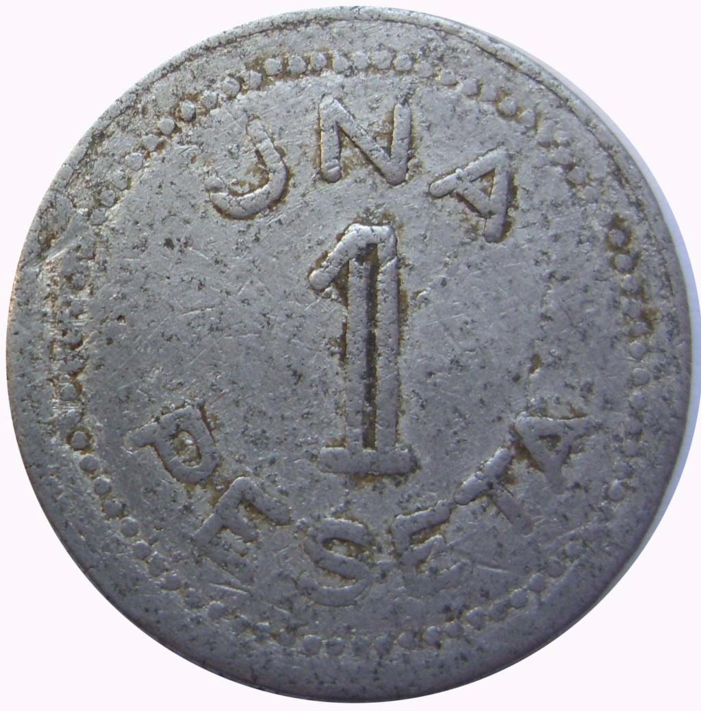 1 peseta. Lejona. Cooperativa obreros y empleados católicos. 8_210
