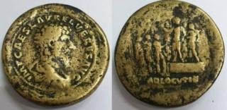 LUCIUS VERUS médaillon, moulage ? Lucius10
