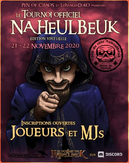 Convention Virtuelle Naheulbeuk - 1ère Édition Affich11