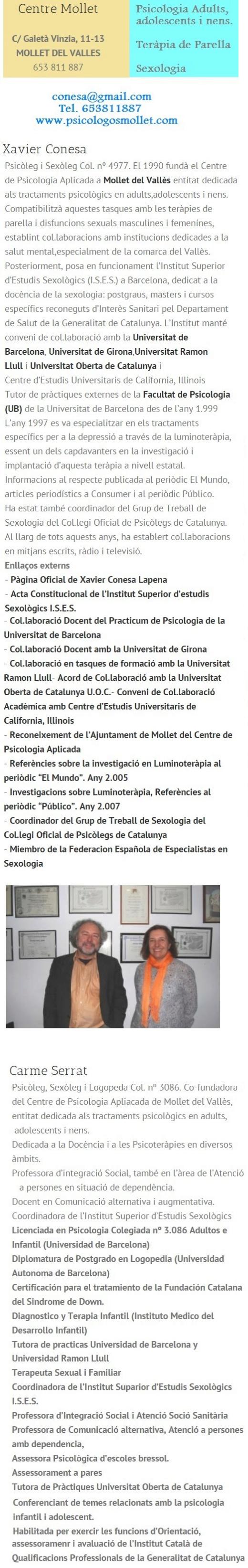 Consejero Matrimonial Mollet, Granollers, Comarca del Valles, Barcelona Optima12