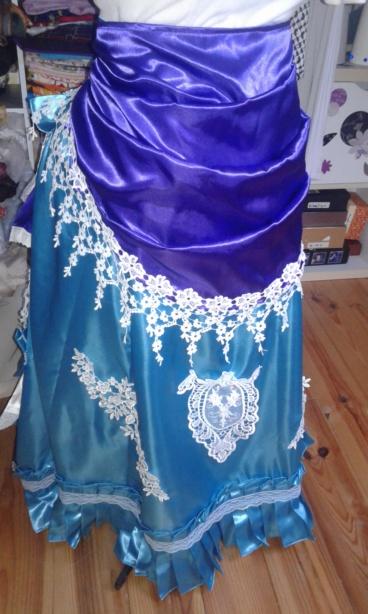 Costume vénitien 2019 Lady Glycine [en cours] 20190110