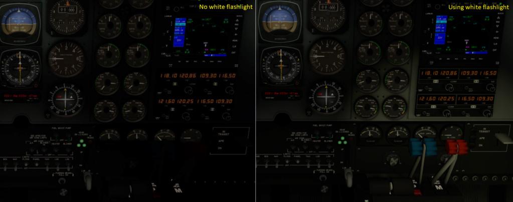 Baron B58 do X-Plane 11 - Iluminação deficiente Pedro_10