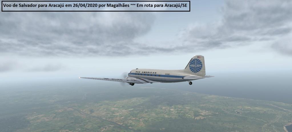 Voo Salvador / Aracaju DC3 Sbsv210