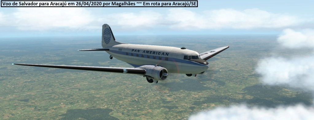Voo Salvador / Aracaju DC3 Sbsv310