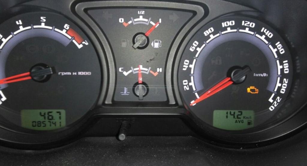 Consumo alto de combustivel - Ecosport 4WD 2.0 2004 Consum10