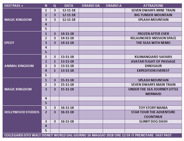 organizzare con largo anticipo viaggio a Disneyworld - Pagina 4 135