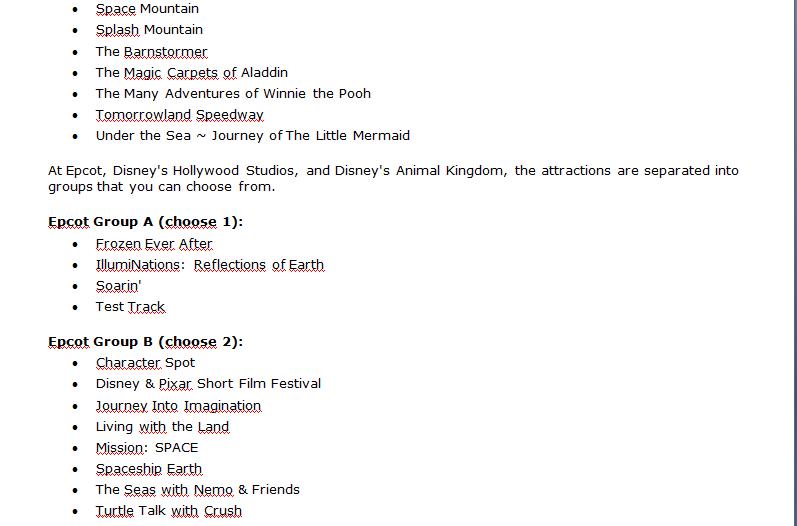 organizzare con largo anticipo viaggio a Disneyworld - Pagina 4 320