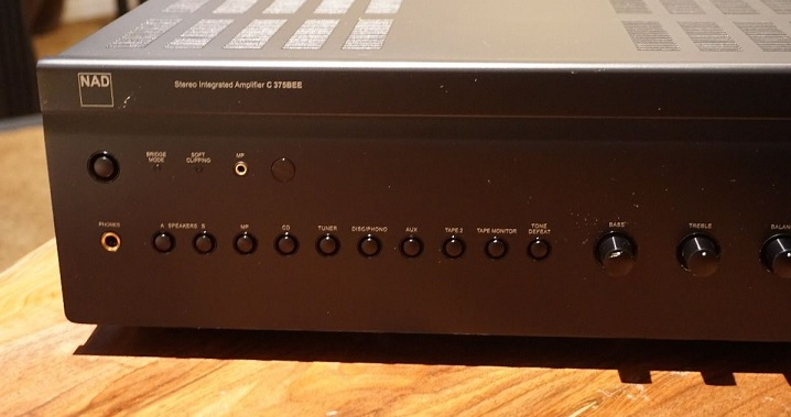 NAD C375BEE Integrated Amplifier **** Excellent Condition 0210