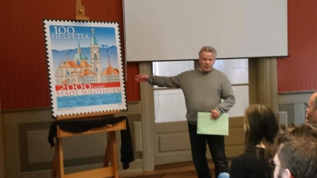 Briefmarkenbörse und Ausstellung - Solothurn 5frbov11