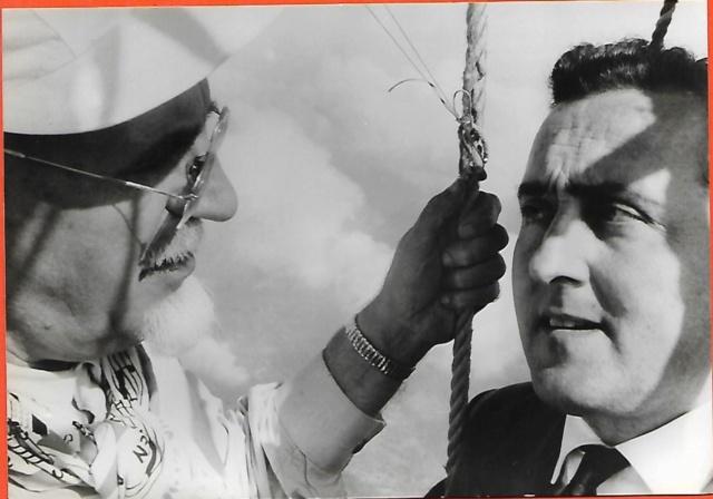 Gas-Ballon-Fahrt 1983 Zu Ehren von Eduard Spelterini  Dolder10