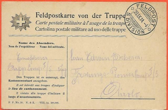 Feldpost-Militärpostkarten Ganzsache? Feldpo10