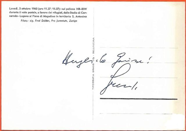 Gas-Ballon-Fahrt 1983 Zu Ehren von Eduard Spelterini  Fred_d10