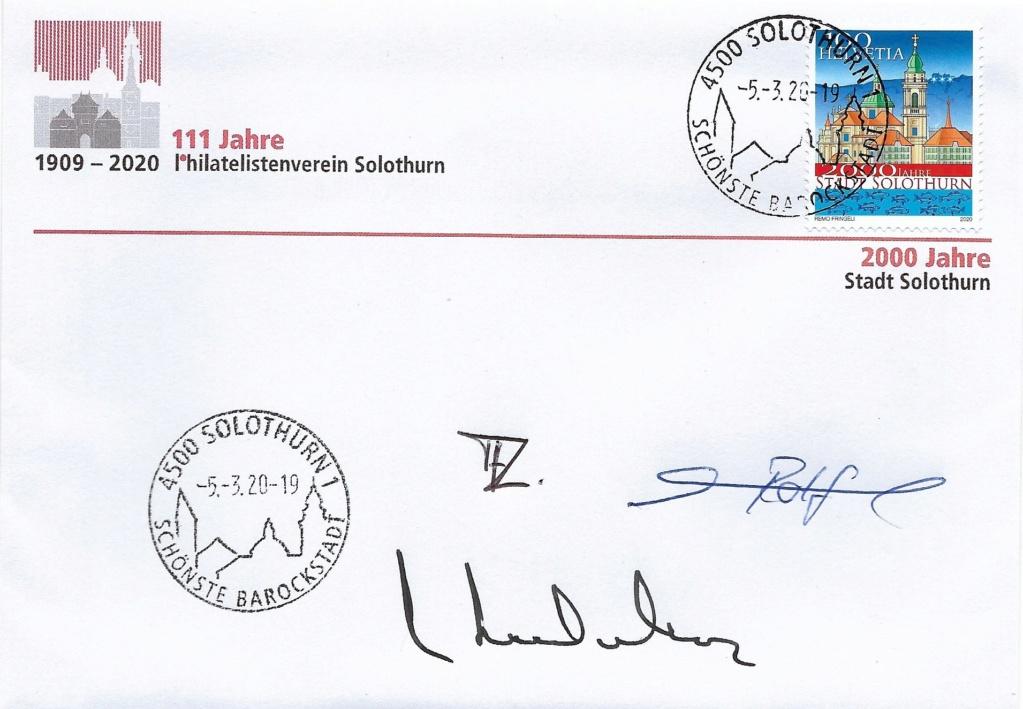 Briefmarkenbörse und Ausstellung - Solothurn Soloth10