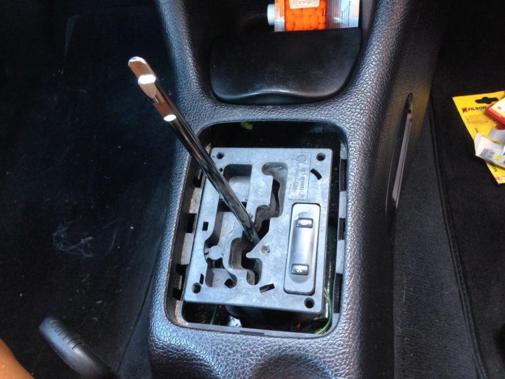 Remplacement platine de boite auto - 206 CC RG 312