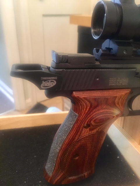 Slide racker for S&W Model 41 Img_0410