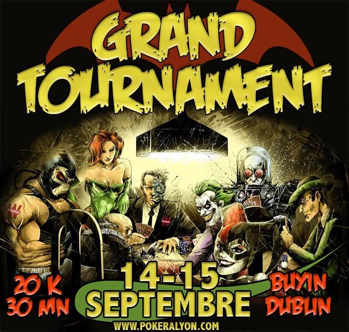 Grand Tournament Poker@lyon - 14 et 15 septembre 2018 Affich13