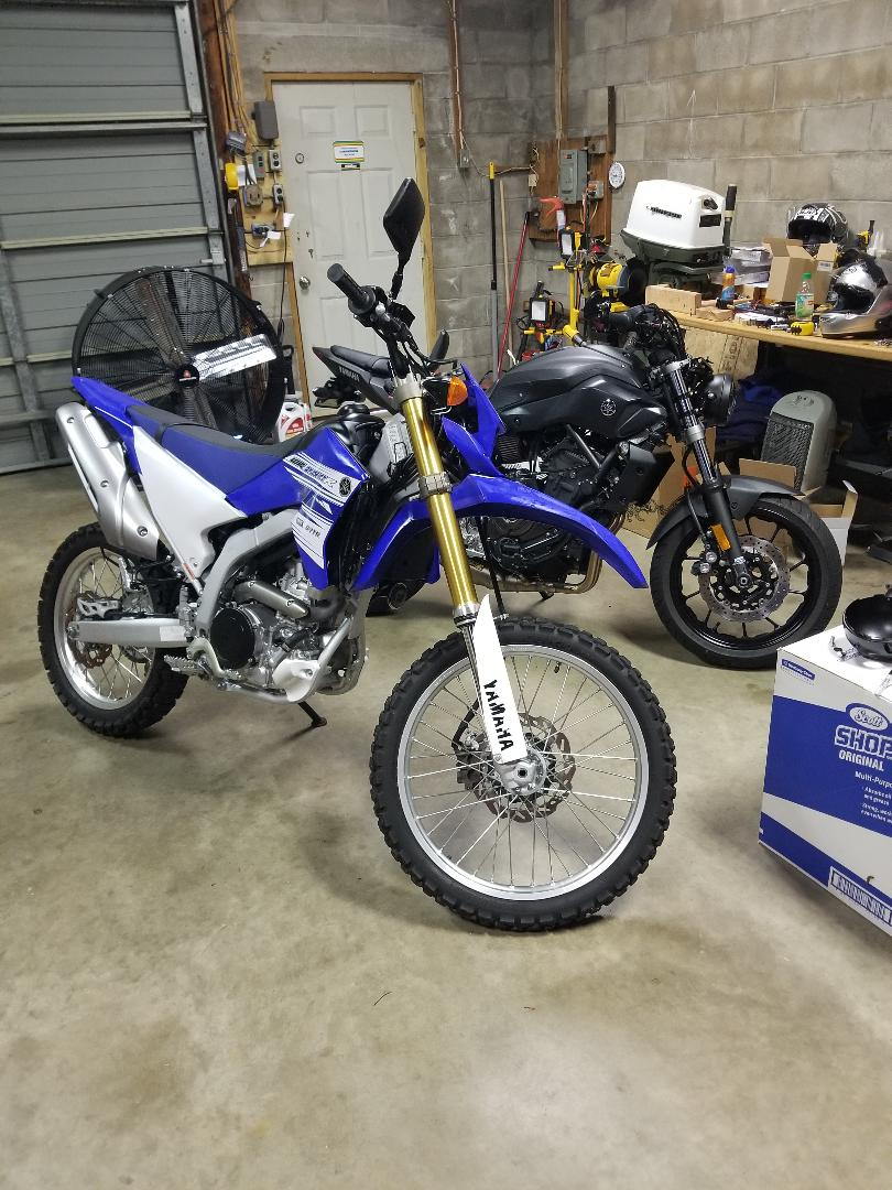 New bike, few small problems Wr250r10