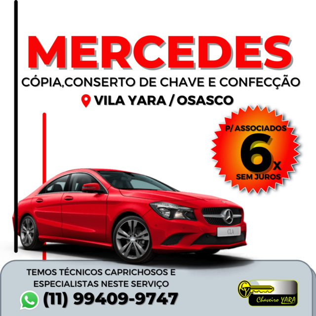Chaveiro Yara - Cópia, Conserto de chave, EZS e Travas - Osasco/SP Merced10