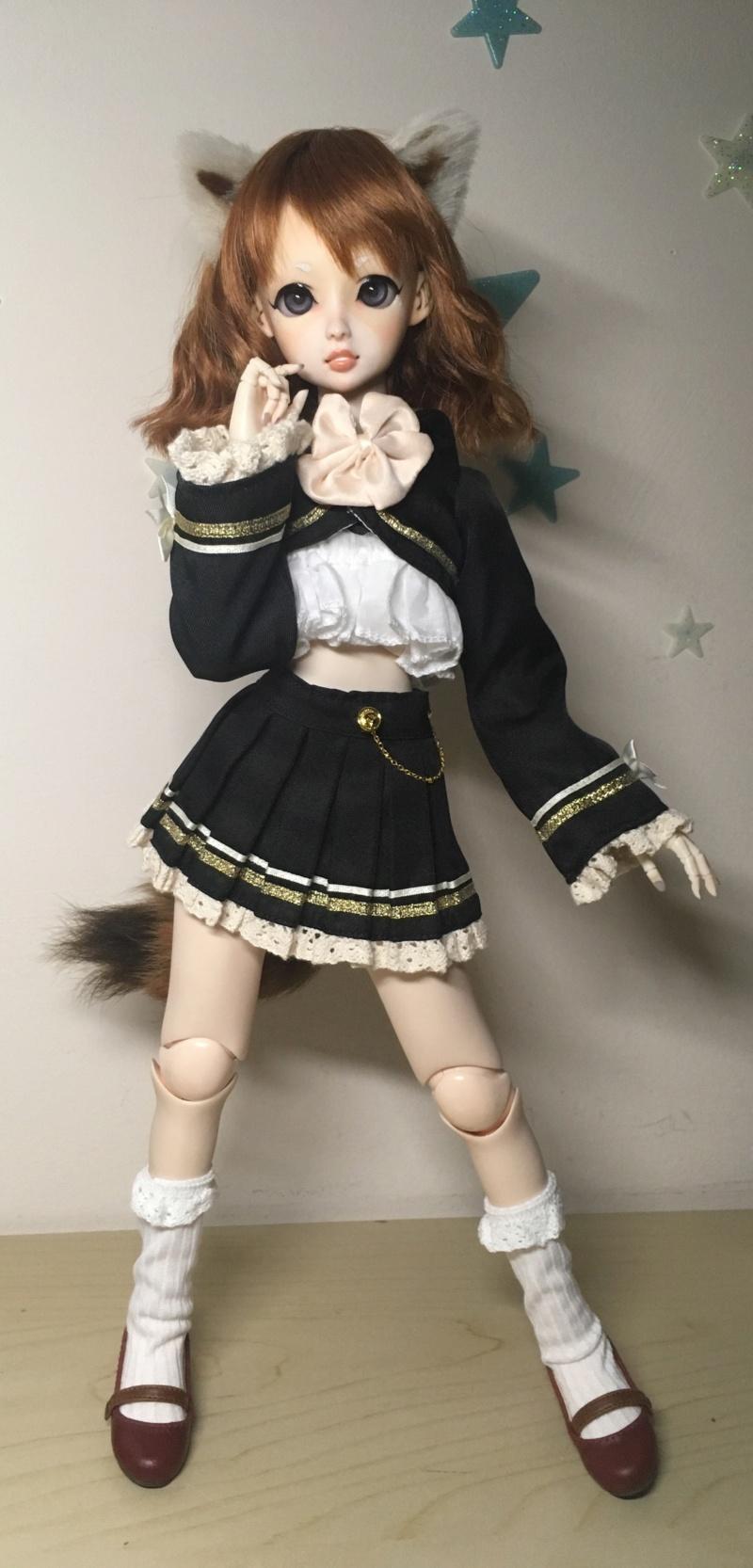 [vente] résine/vinyl doll furry panda roux  B7e0a110