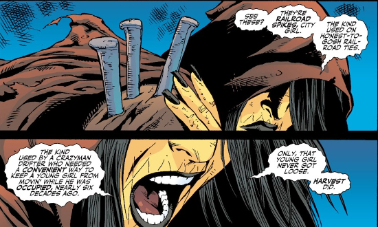 La racine du mal [Lady Blackhawk / Poison Ivy] Rco01622