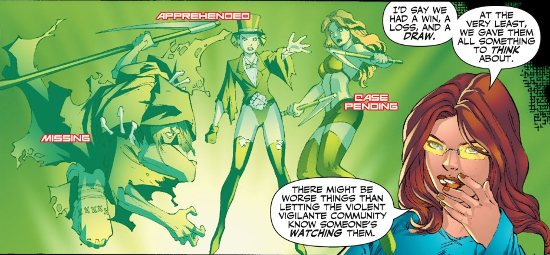 La racine du mal [Lady Blackhawk / Poison Ivy] Rco01813