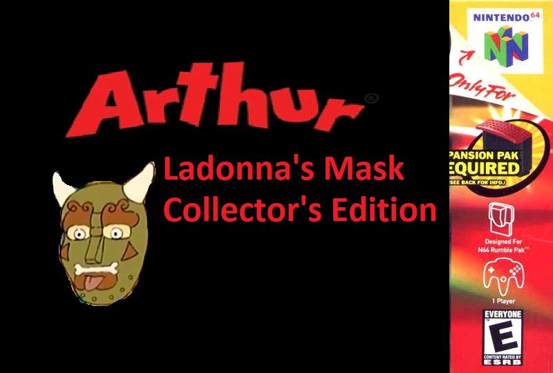 Arthur: Ladonna's Mask (New ARTHUR Fan Game) Game_c10