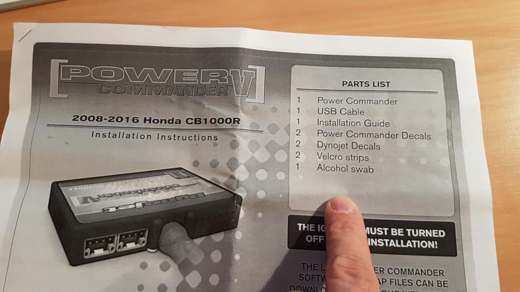 Montage cornets full et power commander III - Page 36 20190317