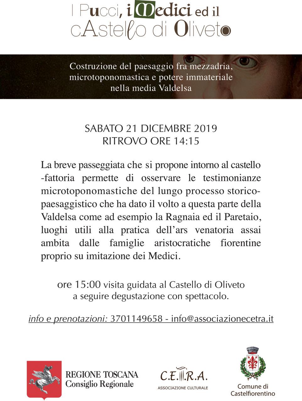 I Pucci, i Medici e il Castello di Oliveto Cosimo11