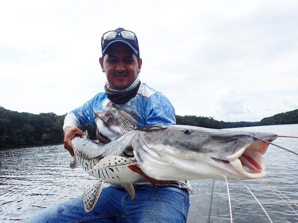 Pêche sportive en Colombie Maurob10