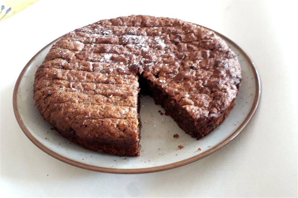 Gâteau aux Dattes,noix et miel de Noël Zectal15