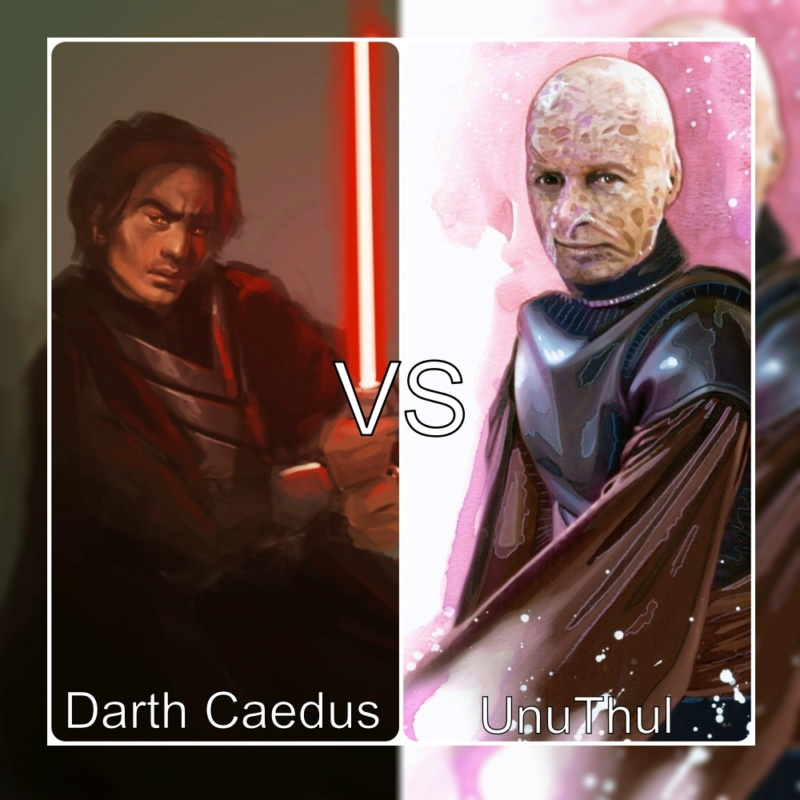 Darth Caedus vs UnuThul  Mycoll13