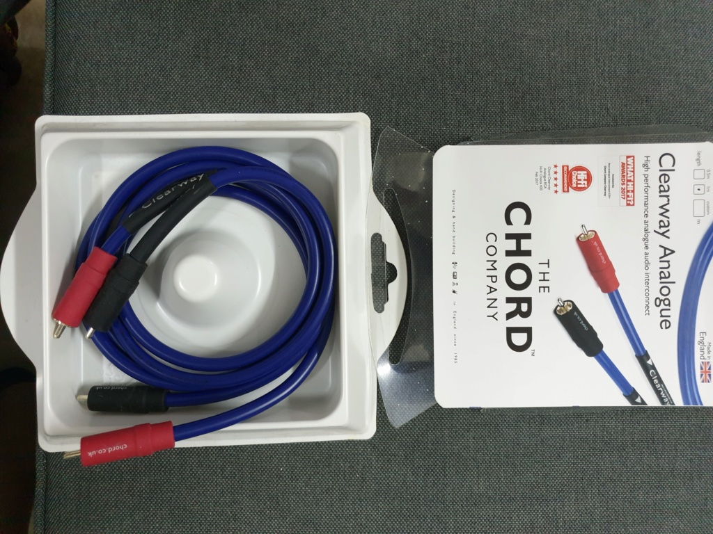 Chord Clearway 3.5mm mj to stereo rca 1m  20190813