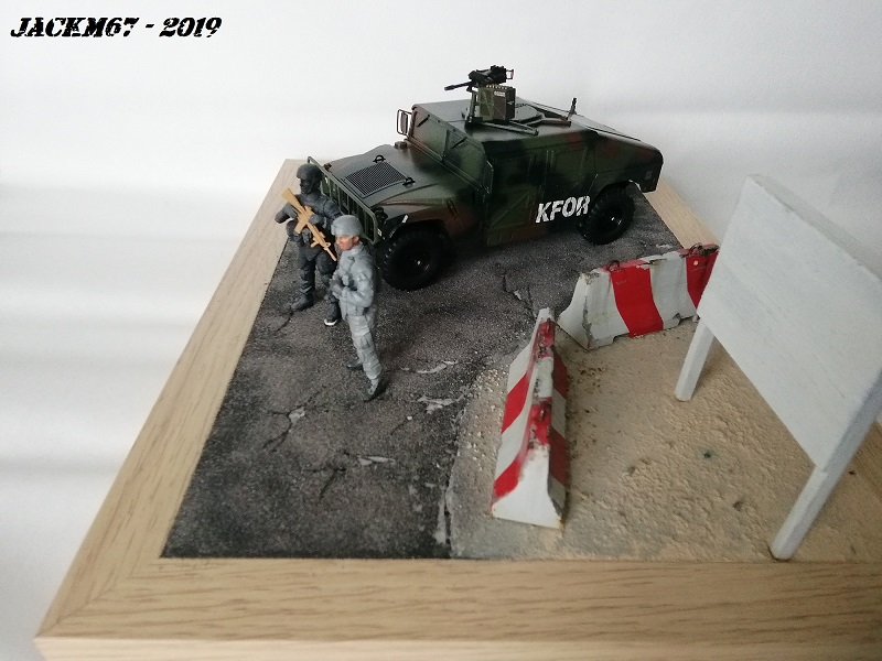 M1025 TAMIYA KFOR Humv110