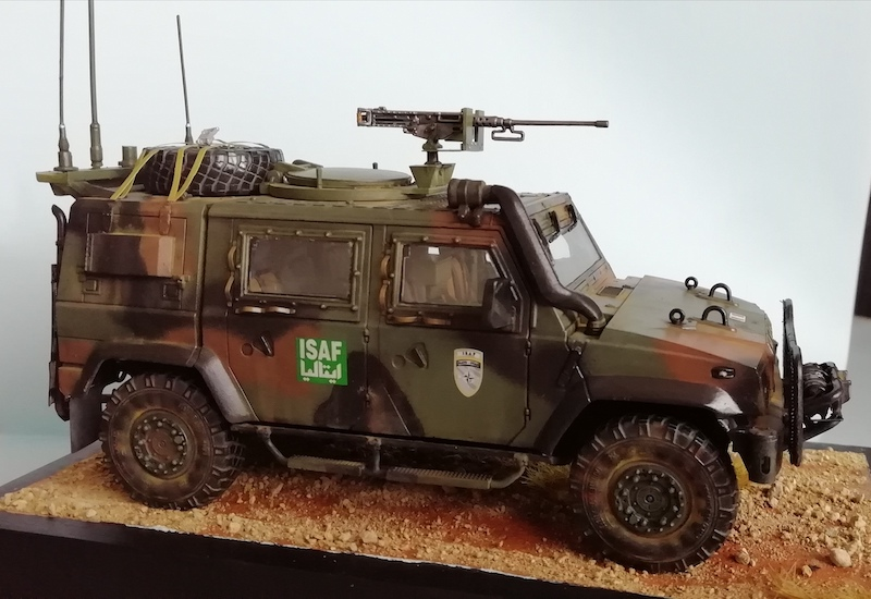 IVECO LINCE - ISAF - Italeri 1:35 Img_2029