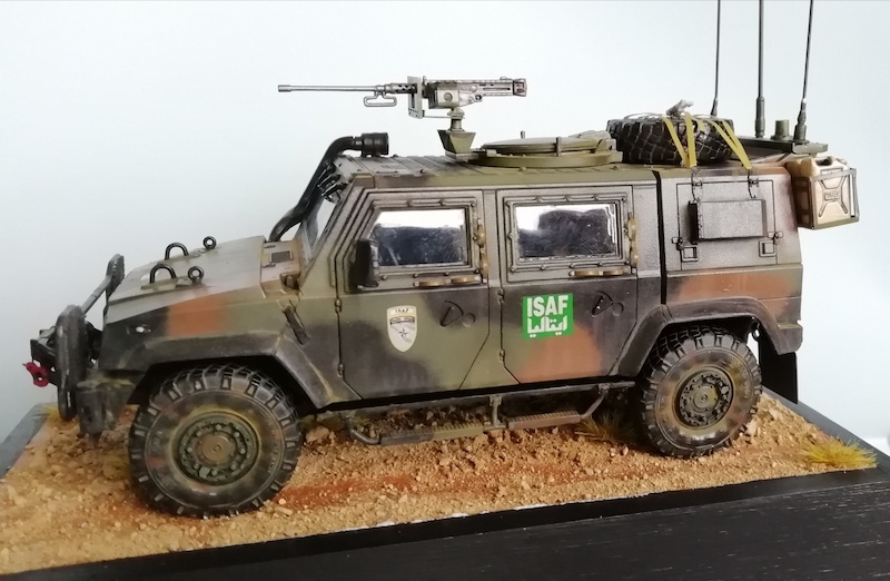 IVECO LINCE - ISAF - Italeri 1:35 Img_2031
