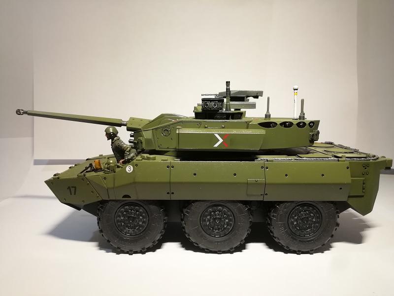 AMX 10 RC demonstrateur Tourelle Nexter T40 Tm910