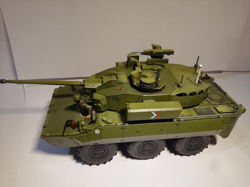 AMX 10 RC demonstrateur Tourelle Nexter T40 Tm9110