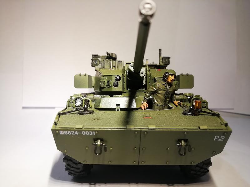 AMX 10 RC demonstrateur Tourelle Nexter T40 Tm9210