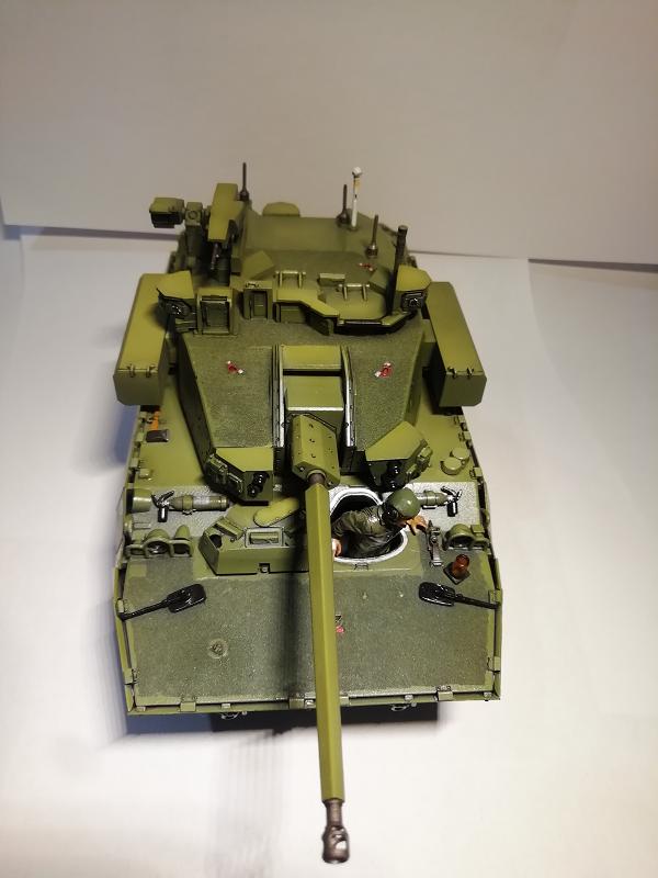 AMX 10 RC demonstrateur Tourelle Nexter T40 Tm9310