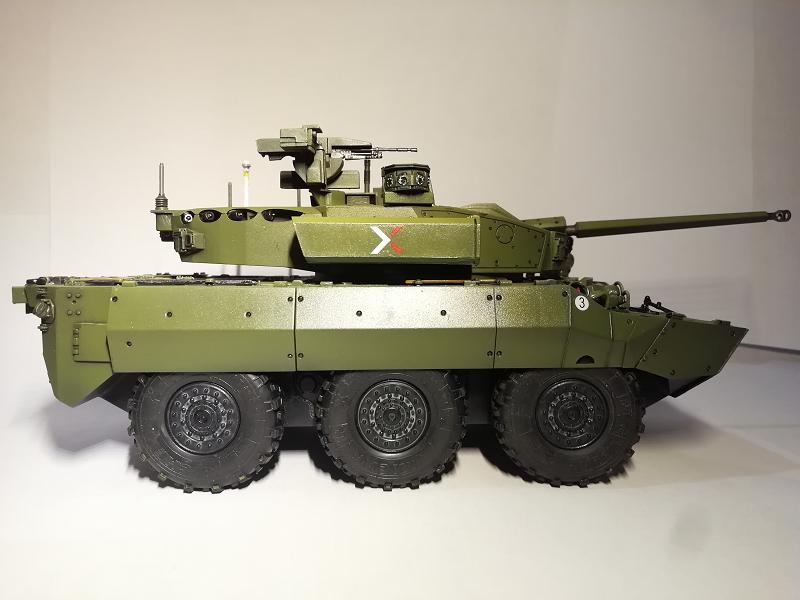 AMX 10 RC demonstrateur Tourelle Nexter T40 Tm9410