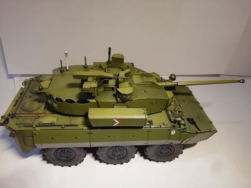 AMX 10 RC demonstrateur Tourelle Nexter T40 Tm9510