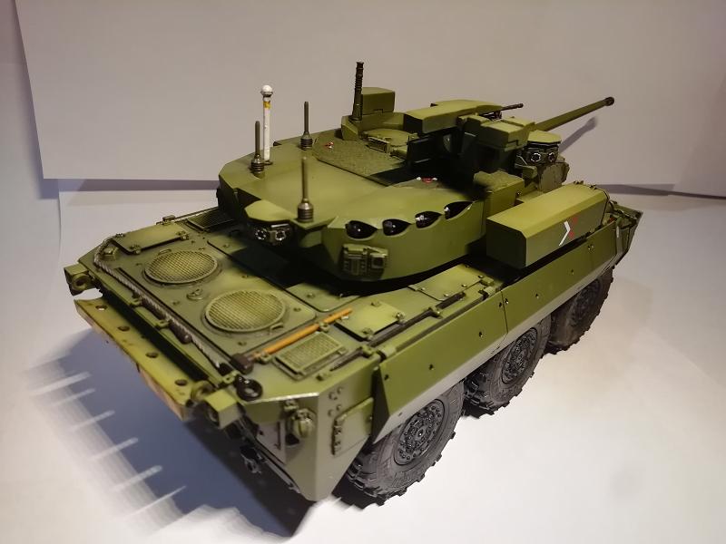 AMX 10 RC demonstrateur Tourelle Nexter T40 Tm9610
