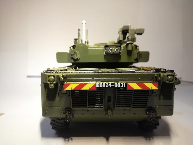 AMX 10 RC demonstrateur Tourelle Nexter T40 Tm9710