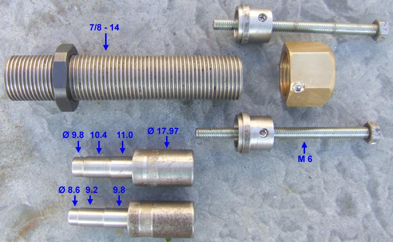 douilles pour rolling block 12.7x44 R et vetterli 10.4 Expand10