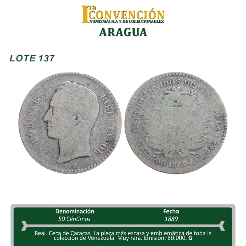 I Convención Numismática y de Coleccionables - Maracay - VE. Lote_110