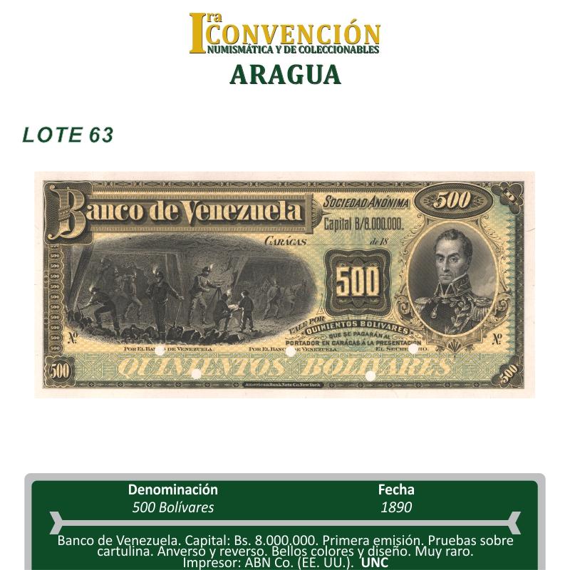 I Convención Numismática y de Coleccionables - Maracay - VE. Lote_611