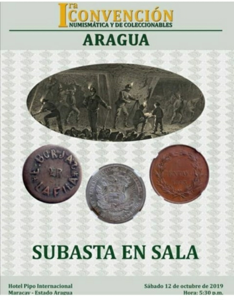 I Convención Numismática y de Coleccionables - Maracay - VE. Whatsa11