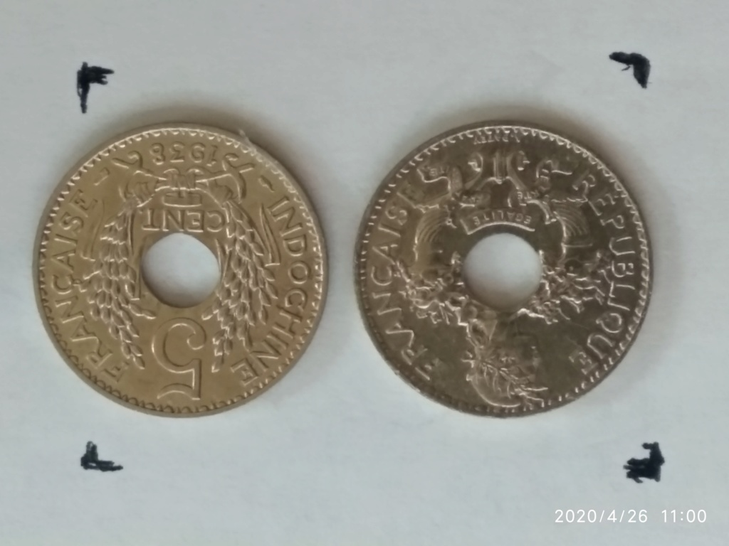 5 centimo Indochina 1938 1938_510