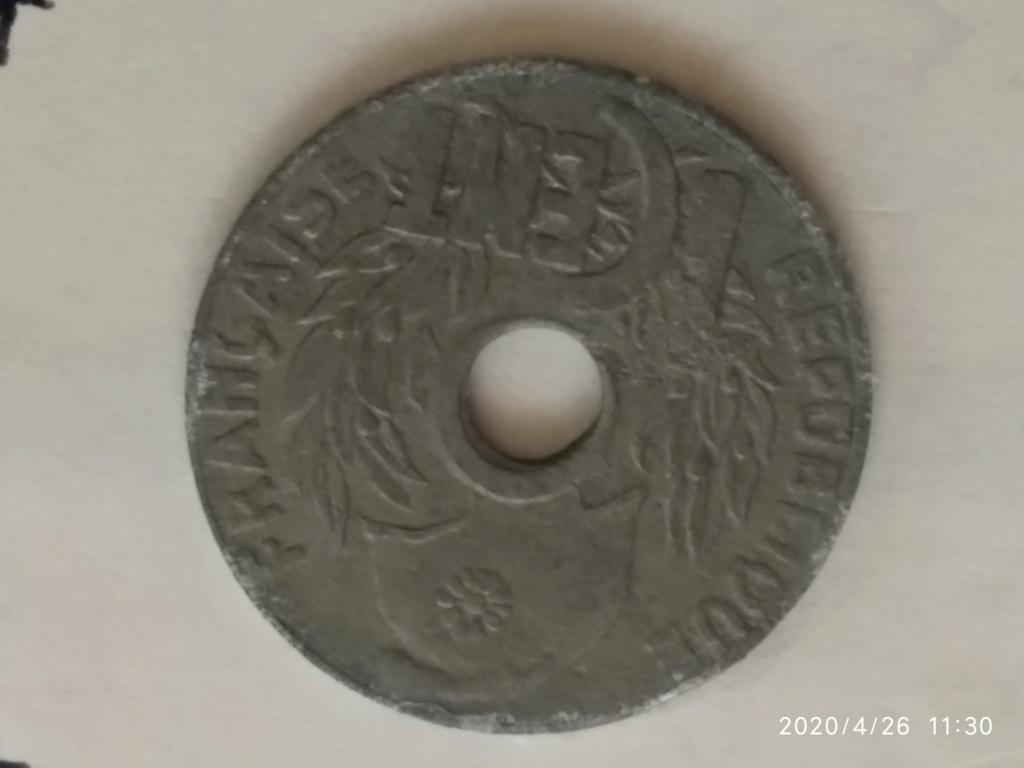 1 Cent 1941. Indochina Francesa 1940_112