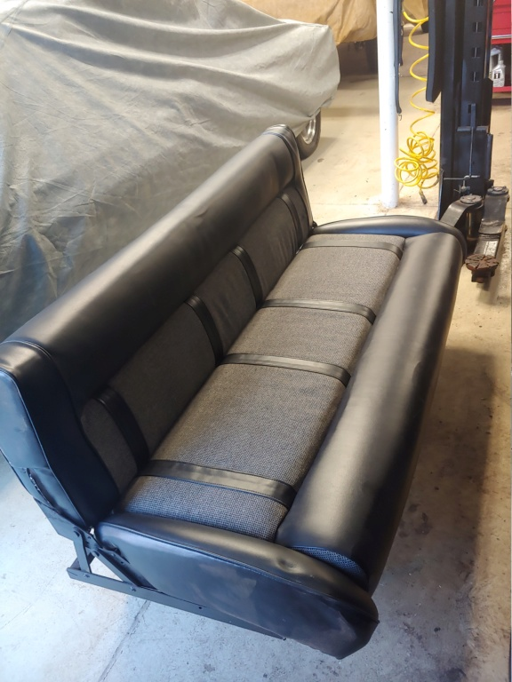 Rear folding bench seat out of '63 Econoline Bench_12